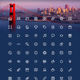 San Francisco (72 icons set)