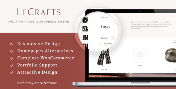 LeCrafts - WooCommerce Marketplace Themes