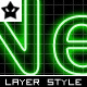 10 Neon Layer Styles