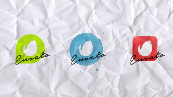 VideoHive Elegant Watercolor Logo Reveal 12311336