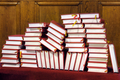 Hymnals and prayer books - stack - indoor - PhotoDune Item for Sale