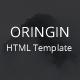 Oringin - Onepage HTML5 Template