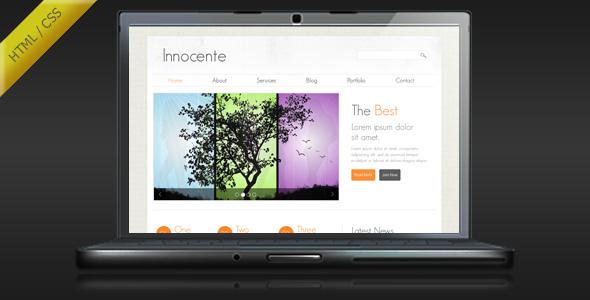 Innocente - Clean and Minimalist HTML Template