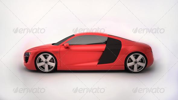 3DOcean Audi R8 Tesla 150260