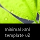 Minimal XML Template v2 w/deep linking - ActiveDen Item for Sale