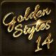 14 Luxury Golden Text Styles vol 6
