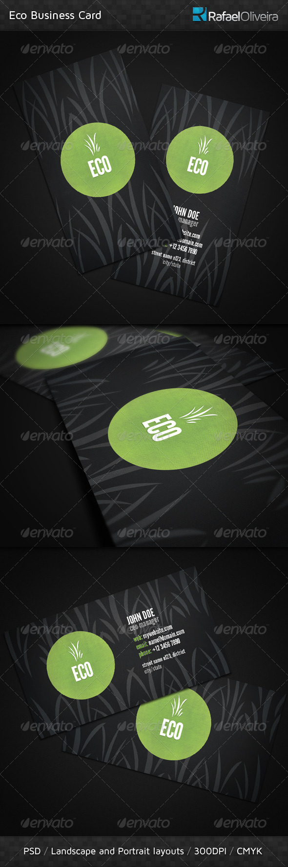Eco Business Card - Creative Business Cards
