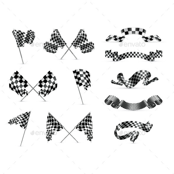 Checkered Flags Icons