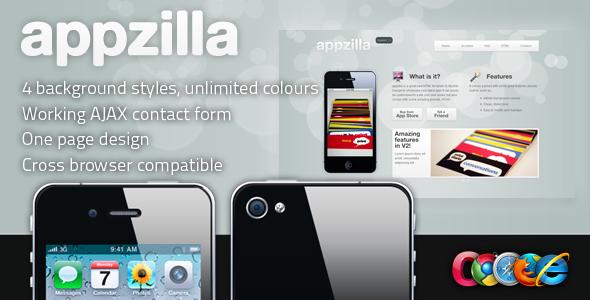 Appzilla - App/Portfolio theme (4 skins) - Appzilla Preview