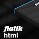 Flatik - Multipurpose Corporate Template