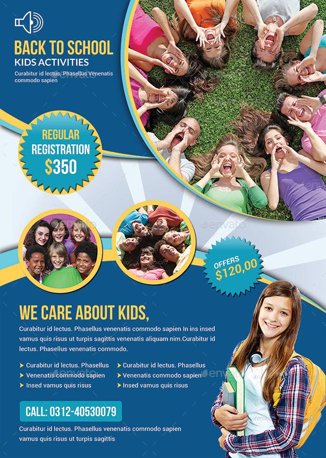 school flyer examples
