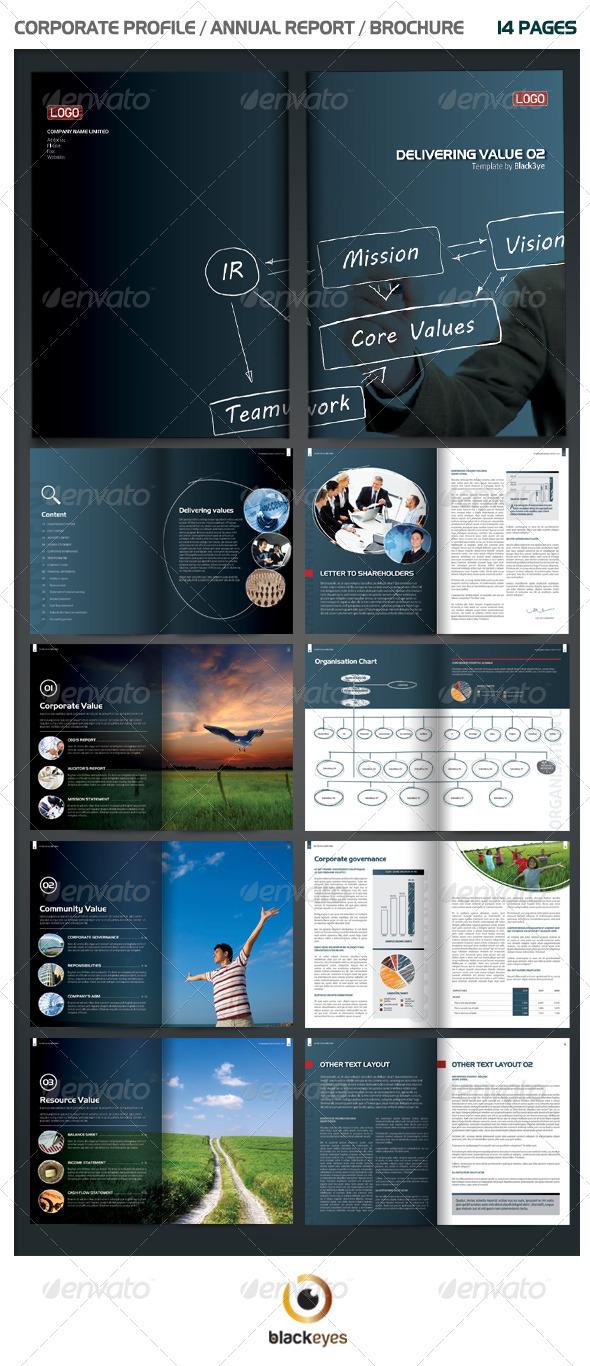 GraphicRiver Unique Annual Report Brochure 1241318