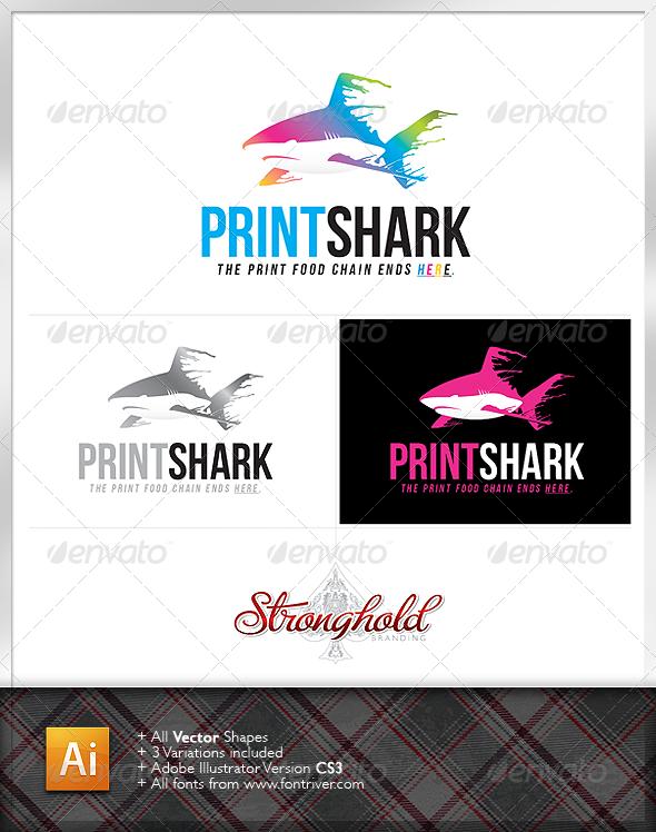 Print Shark Logo