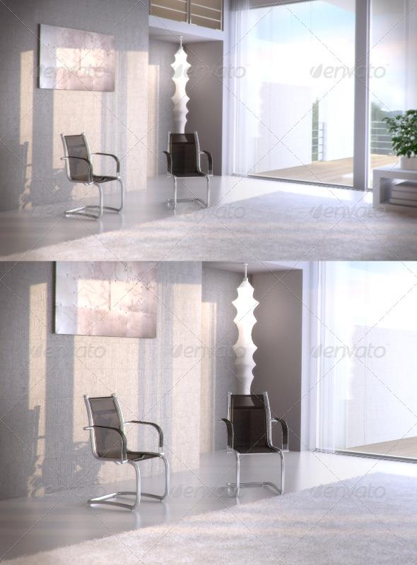 3DOcean Topdeq Spirit Hera armchair 97083