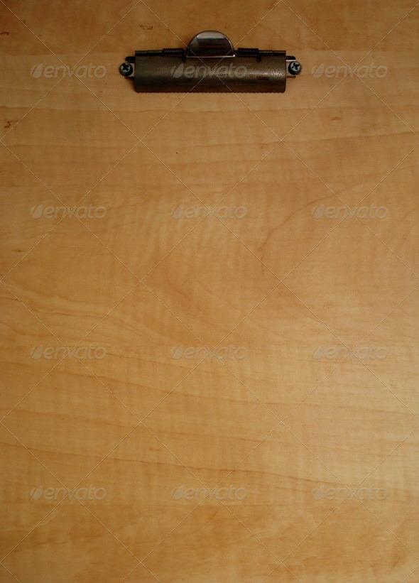 GraphicRiver Wooden Clip Board 150466