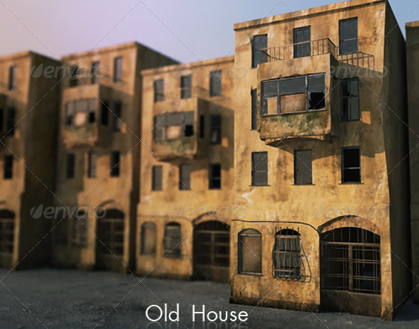3DOcean Old house 150467