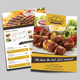 Restaurant Flyer & Loyalty Card Template
