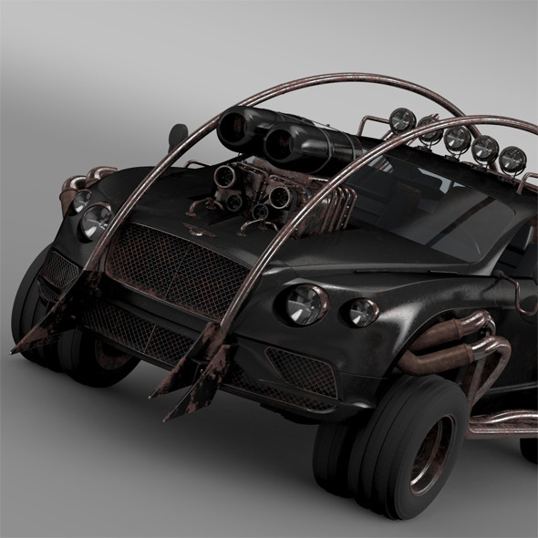 Mad Max Grizzly Bentley Continental GT 2015 - 3DOcean Item for Sale