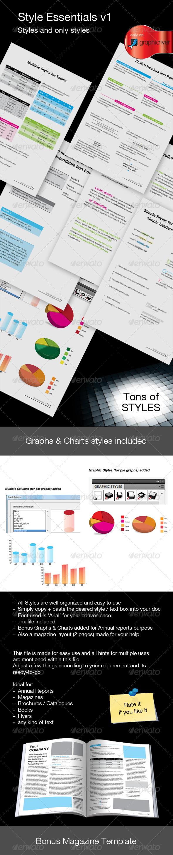 GraphicRiver Style Essentials v1 150533