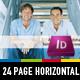 Strategic Horizontal Brochure - GraphicRiver Item for Sale