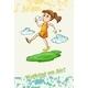 Idiom Walking on Air