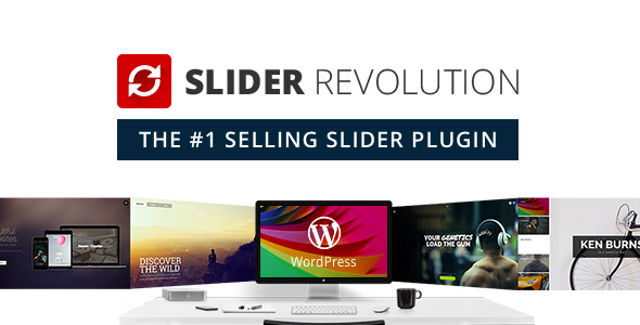 دانلود خرید Slider Revolution Responsive WordPress Plugin
