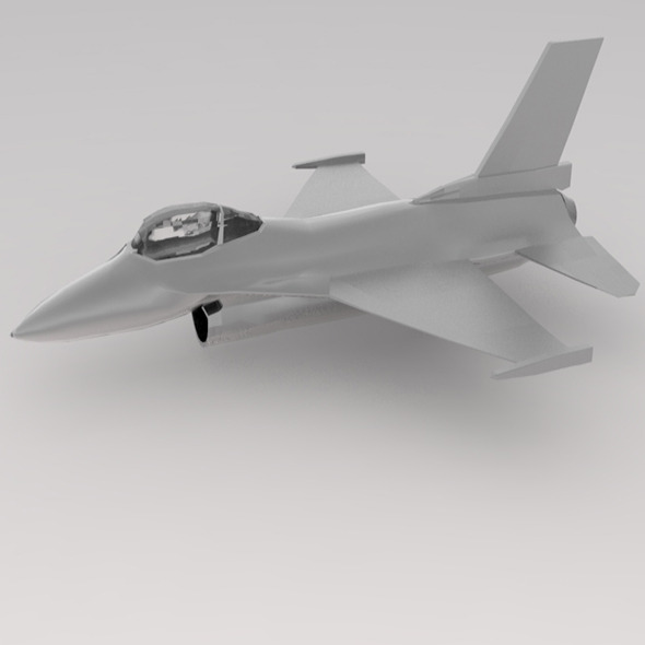 f-16 war plane - 3DOcean Item for Sale