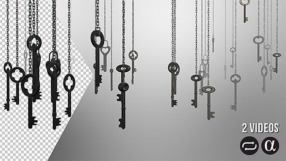 VideoHive Hanging Keys 2 Pack 12409216