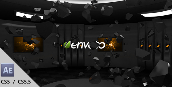 After Effects Project - VideoHive The Blast Logo Reveal Launch 1243424