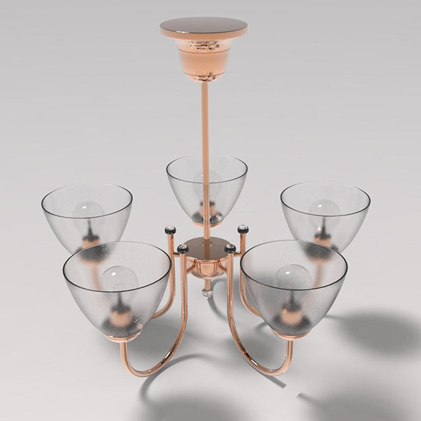 chandelier - 3DOcean Item for Sale