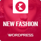 New Fashion Magazine WordPress theme