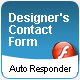 Graphic and Web Designer's Contact form - with Automatic Response message - ActiveDen Item for Sale