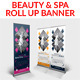 Beauty & Spa Roll Up Banner