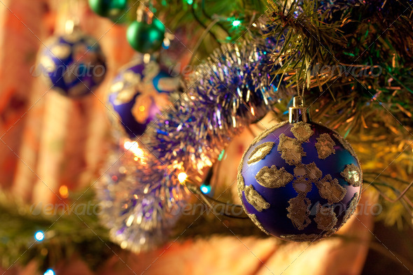 Christmas-tree decorations - Stock Photo - Images