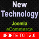 New Technology –  Joomla eCommerce Site Template