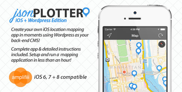 jsonPlotter - Complete iOS Mapping Application - CodeCanyon Item for Sale