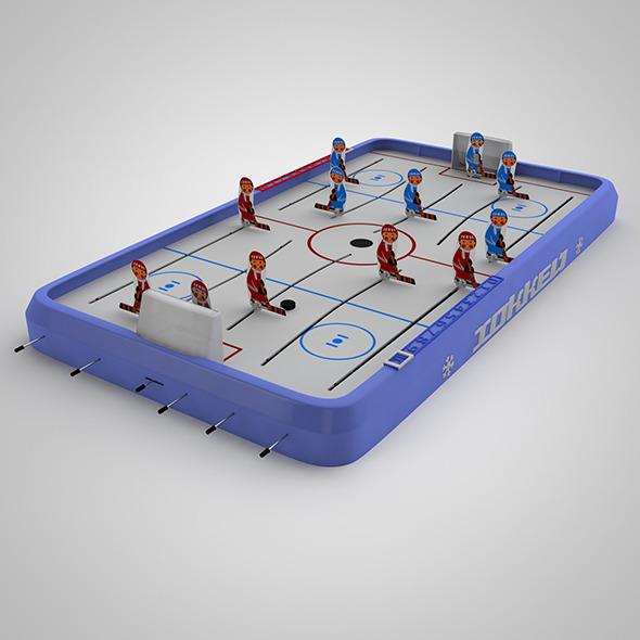 Hockey - 3DOcean Item for Sale