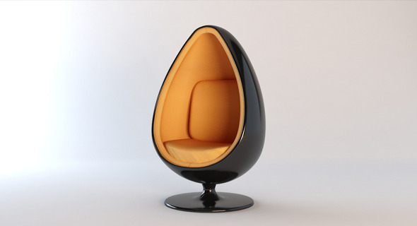 3DOcean Egg Chair 12425770