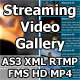 Streaming Video Gallery: RTMP FMS HD XML AS3 MP4 - ActiveDen Item for Sale