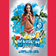 Beach Party (Flyer Template 4x6)