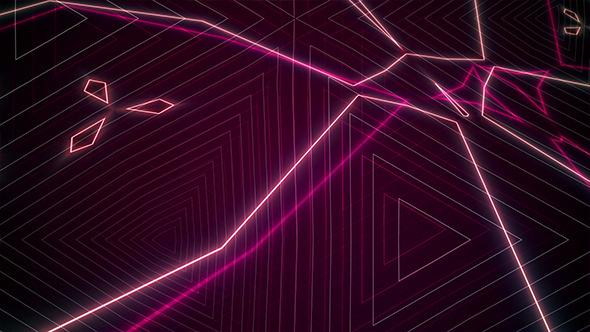 Neon Matrix Loop 3