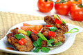 Chicken meat with vegetable - PhotoDune Item for Sale