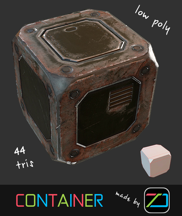 Container - 3DOcean Item for Sale