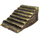 Rocky Staircase | Low Poly Game Asset