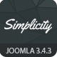 Simplicity - Responsive eCommerce Joomla Template