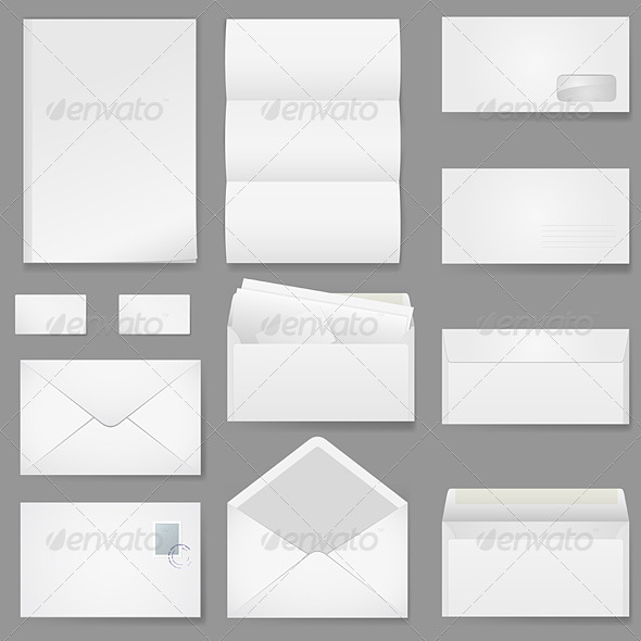 GraphicRiver Office Paper of Different Types 1246069
