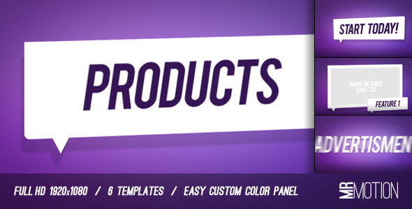 After Effects Project - VideoHive Product and Service Promo 1246181