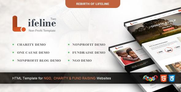 Lifeline 2 - Multipurpose Non-profit HTML Template