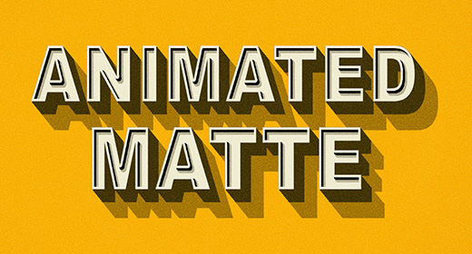 Animated Matte