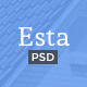 Esta — Real Estate PSD Template
